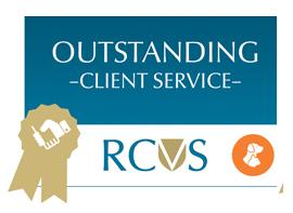 RCVS Outstanding Client Service