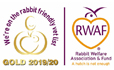 Rabbit Friendly Logo Gold